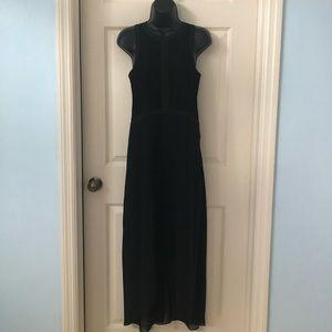 NWOT BCBGENERATION HI- LO BLACK DRESS